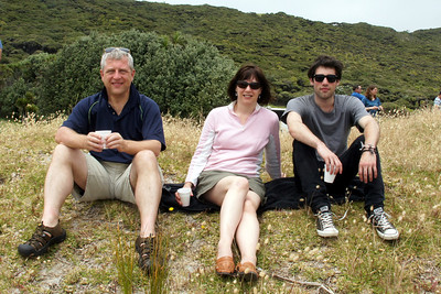 Tea Drinkers (Lunch time at Tapotupotu Bay near Cape Reinga)