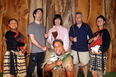 Maori Welcoming Ceremony (Photo taken in Kaiataia, at the beginning of our Sand Safari tour to Cape Reinga.)
