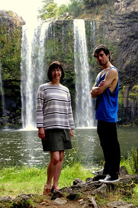 Whangarei Falls Visitors