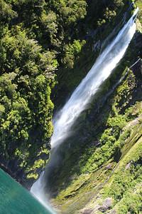 Waterfall, Milford Sound