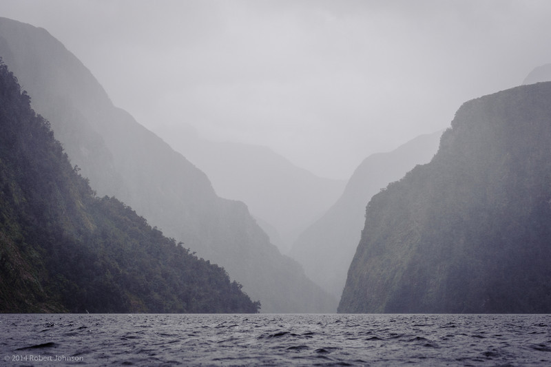Doubtful Sound was named 'Doubtful Harbour' in 1770 by Captain Cook, who did not enter the inlet as he was uncertain whether it was navigable under sail.