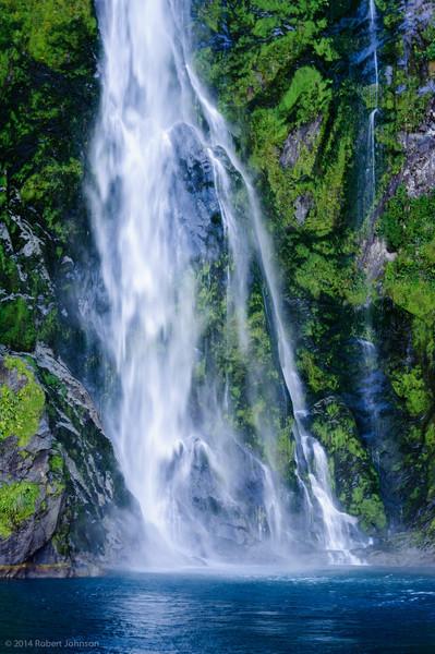 Stirling or Waimanu Falls, Milford Sound