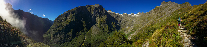 Mt. Elliot at the head of the Arthur River Valley