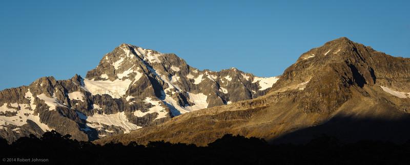 Sunrise on Mt. Christina