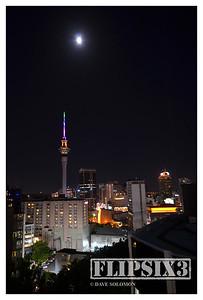Sky Tower by night II