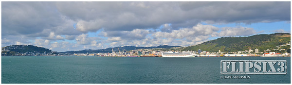 Wellington Harbour - Panoramic