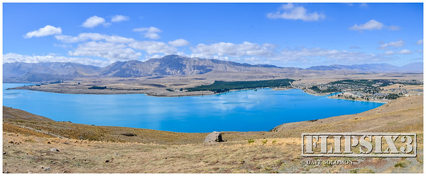 iPhone Panoramic Lake Tekapo
