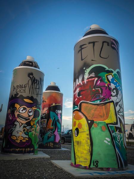 Modern Street Graffiti
