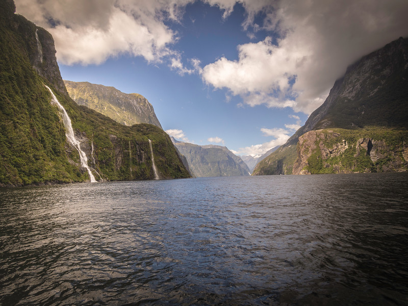 Waterfalls of Milford Sound 3