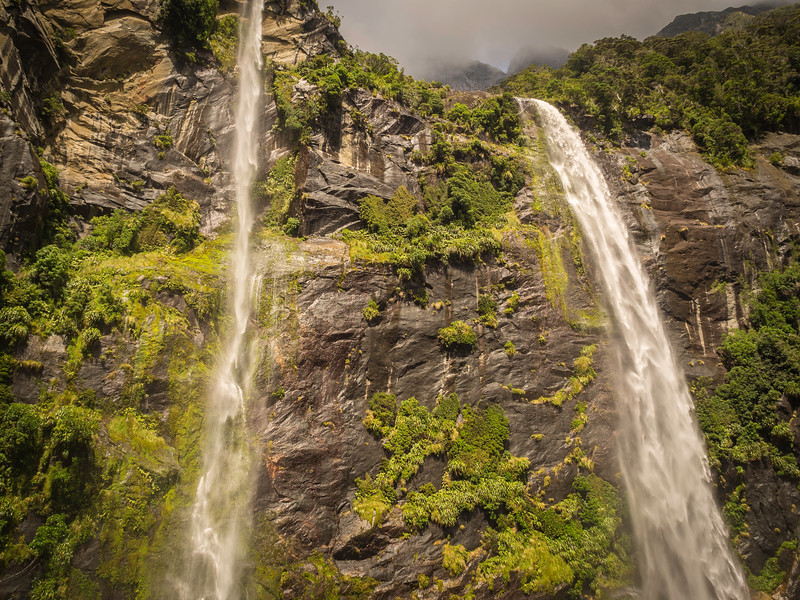 Waterfalls of Milford Sound 1
