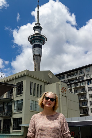 K and Sky Tower.