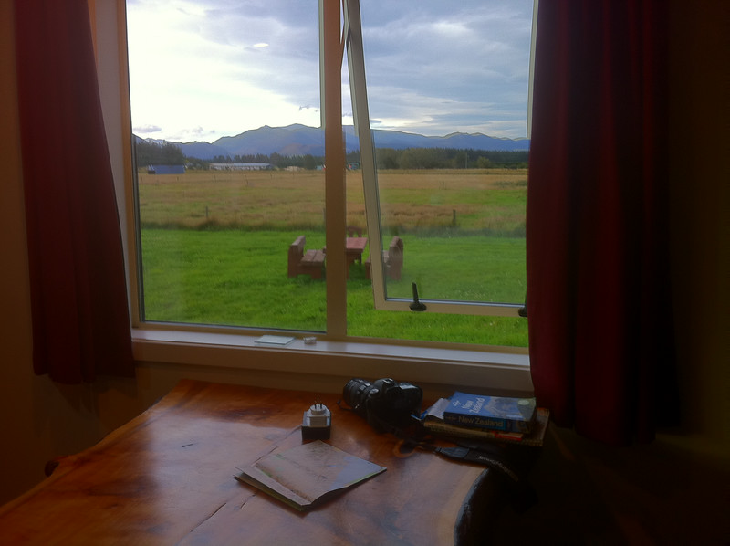 View from my kitchen. Just a tiny place in the country. Away from the tourist hustle. <br />  Springfield Holiday Lodge