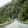 Typical NZ bridge. There are but a handful of double-laned bridges. Most are single lane like this one.<br />  Arthur's Pass