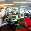 Come on FB. Amuse me or I'm gonna have to read a book!<br /> <br />  Luxurious waiting area in Aukland's airport. Outlets galore. No individual bus station type chairs. Consequently No one sleeping on the floor. No camping out at electrical outlets. The toilet area was so voluminous with rooms and hallways I thot I would get lost.