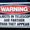 This may be an old astronomer's joke but .......