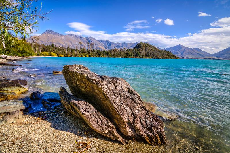 Bob's Cove, Lake Wakatipu, New Zealand