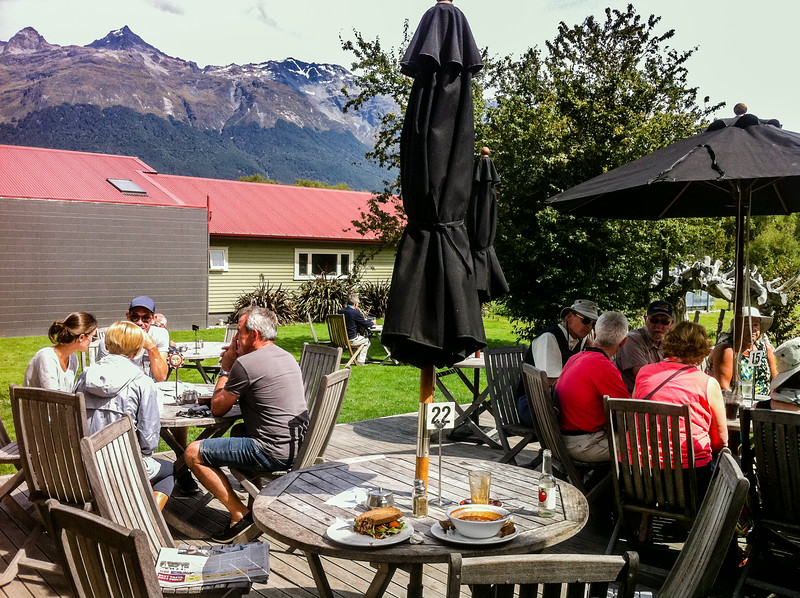 Glenorchy Cafe, Lake Wakatipu<br /> iPhone pic