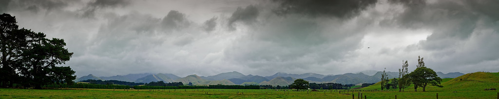 """UFO"" and storm near Masterton, New Zealand"
