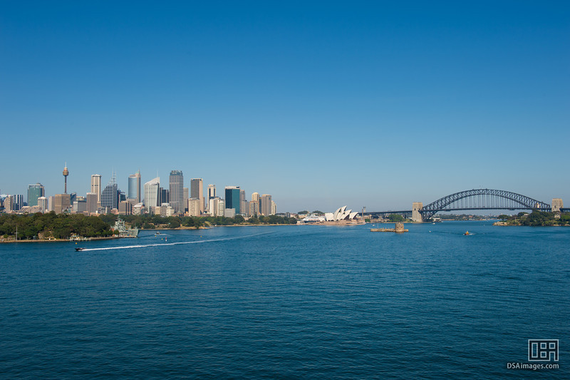 Sydney City, Opera House and Bridge