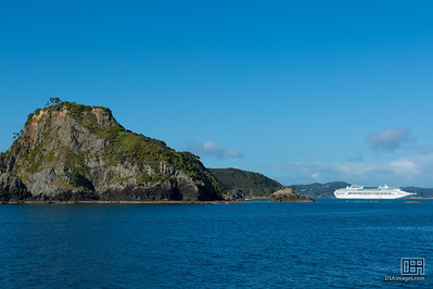 Sea Princess at the Bay of Islands