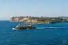 Entering Sydney Harbour