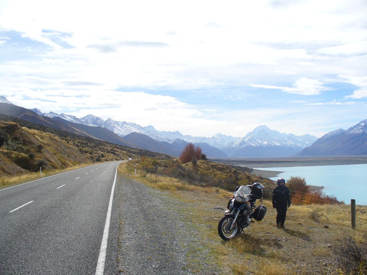 Leaving Mt Cook