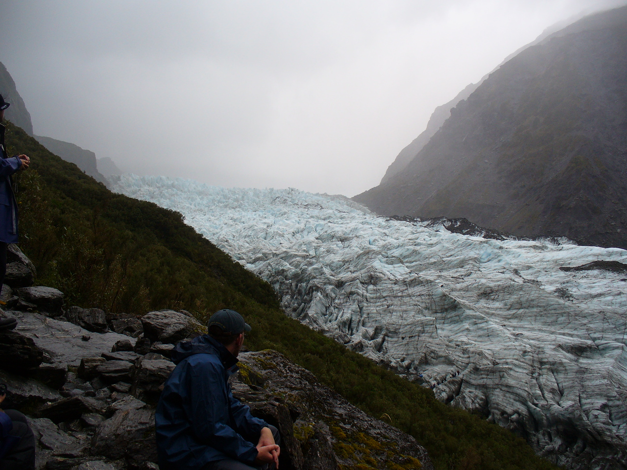 Nice day for a glacier walk, Fox Glacier