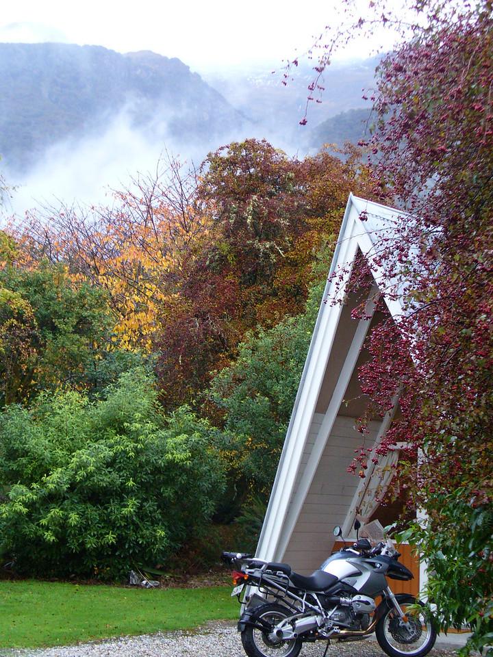 Makarora, evening, brief respite from rain