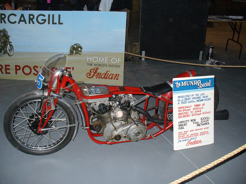 The real thing-Burt Munro's Indian
