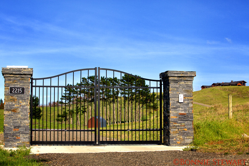 EVER Main Gate with Ranch House on upper right
