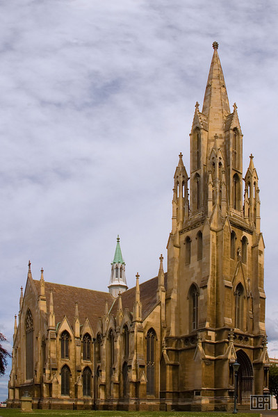 A Church in Dunedin (Perspective Corrected)