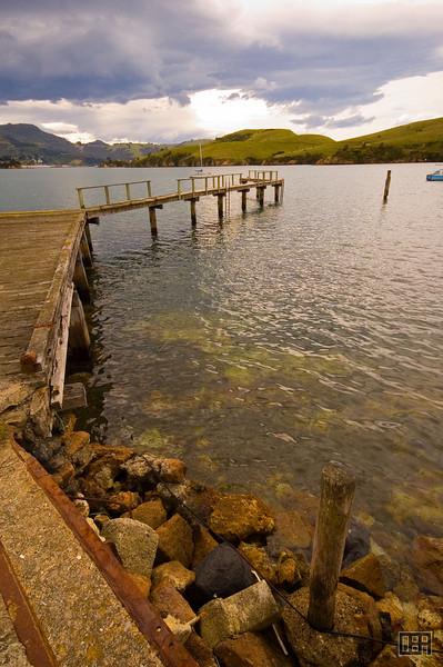Old jetty near Portabello