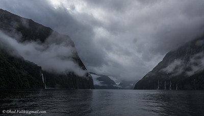 Milford Sounds Boat  NZ
