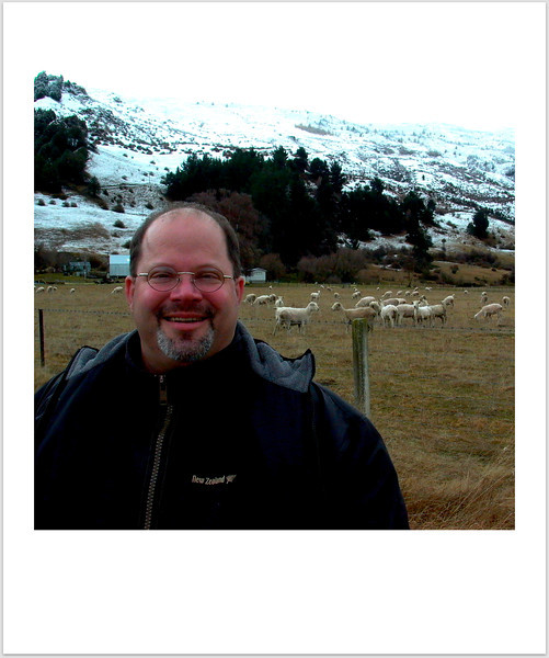 Visiting friends on the South Island around Queenstown. These sheep were more of Phil's friends than mine.