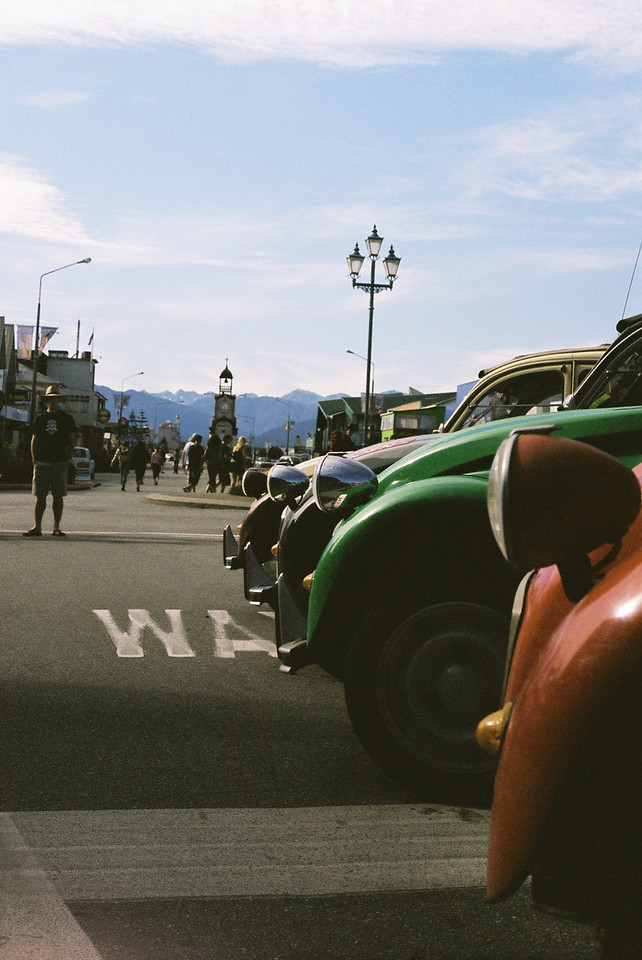 Car show in Hokatika