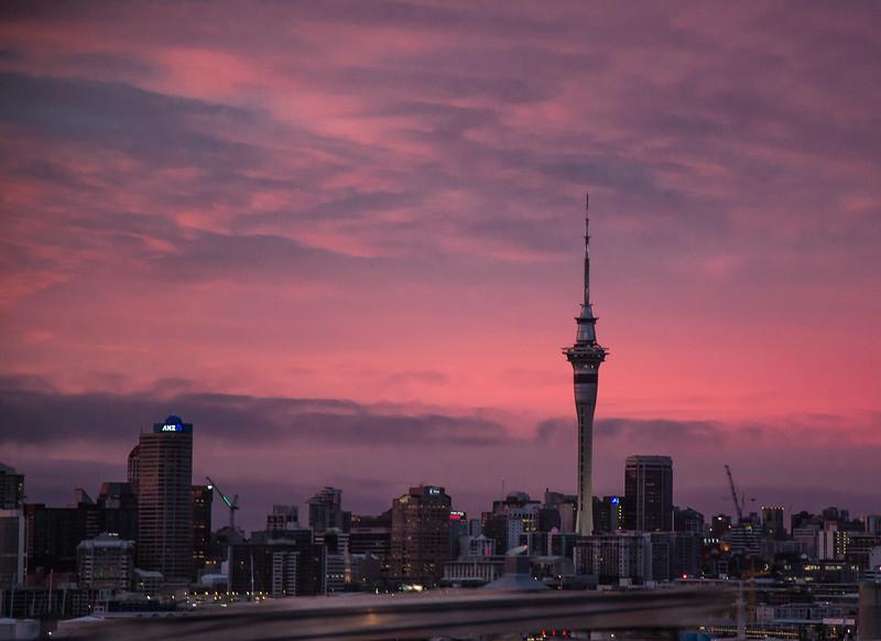 Auckland at Sunrise