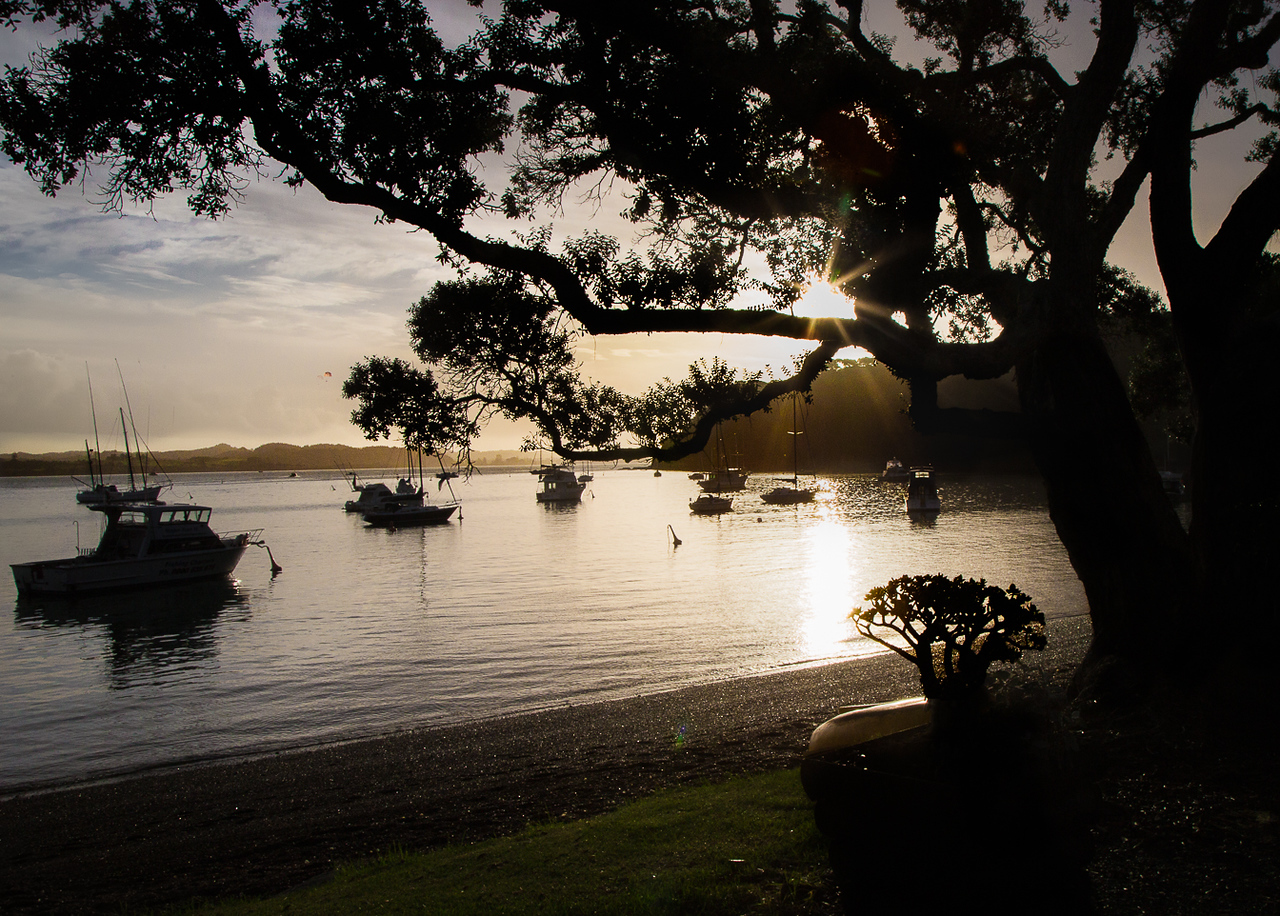 Russell Sunset, Bay of Islands