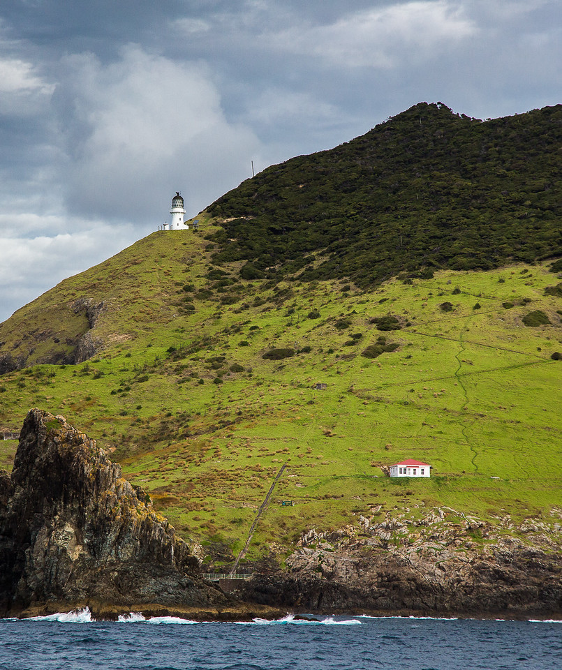 Lighthouse in the Bay of Islands