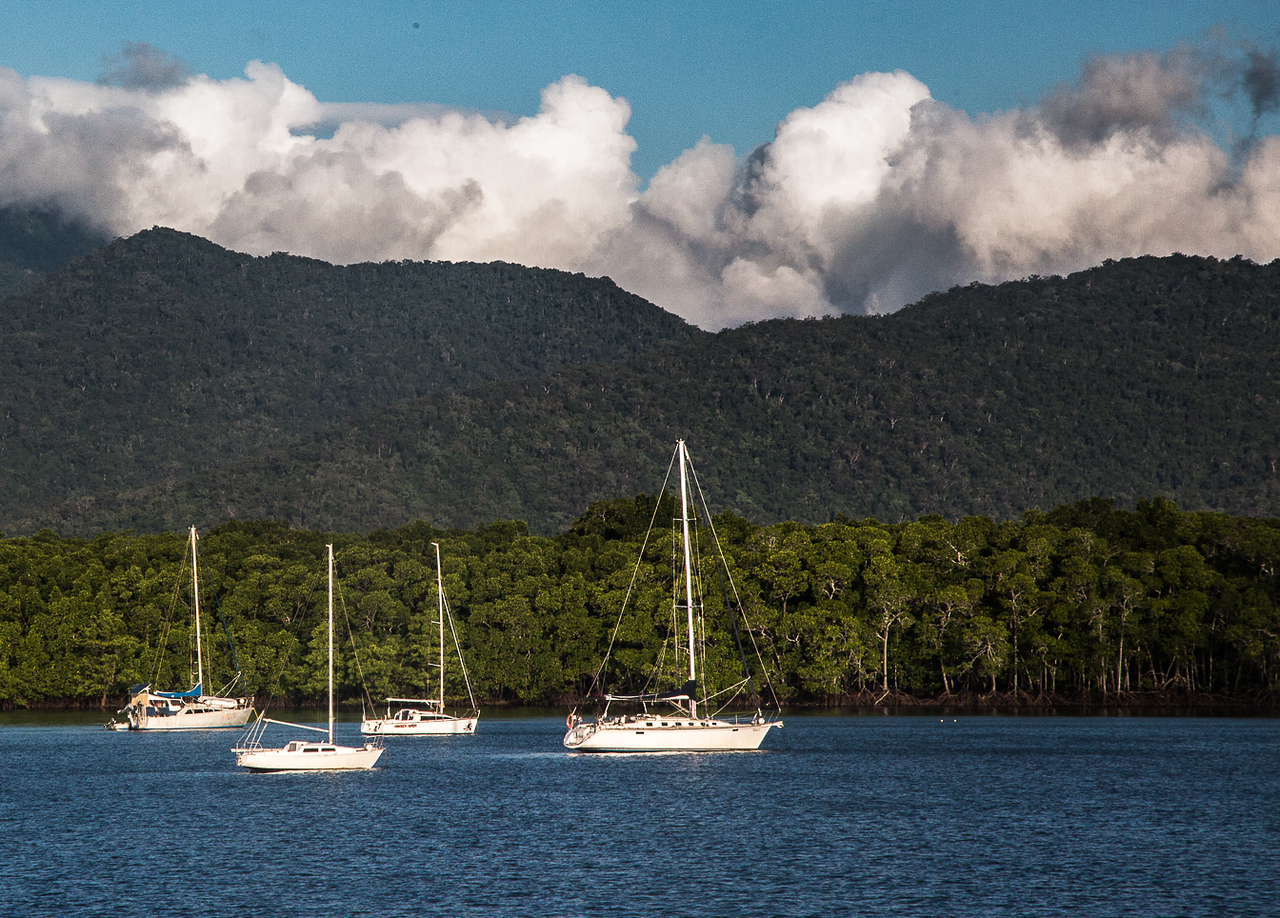 Boats in Cairns