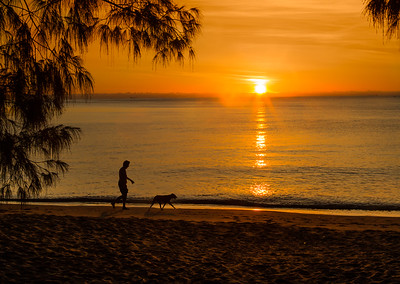 Sunrise in Palm Cove