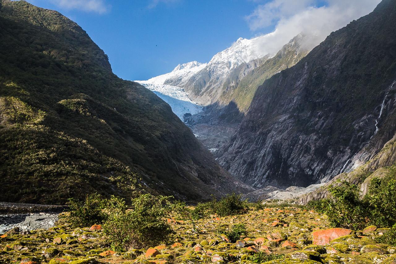 The Franz Joseph Glacier