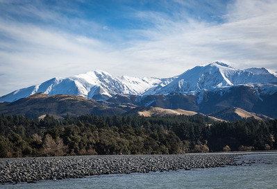 The Southern Alps from our Jet boat ride