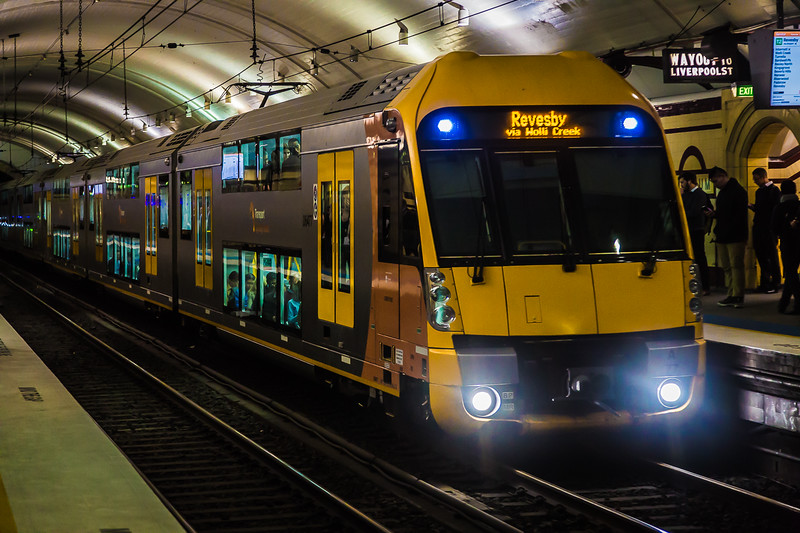 Double Decker Subway train