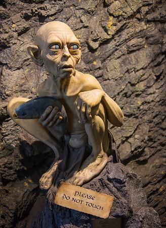 Weta Statue of Gollum