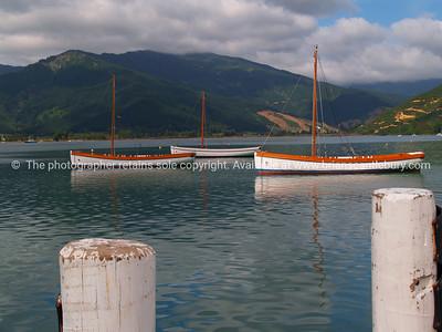 Anakiwa, Outward Bound training boats.