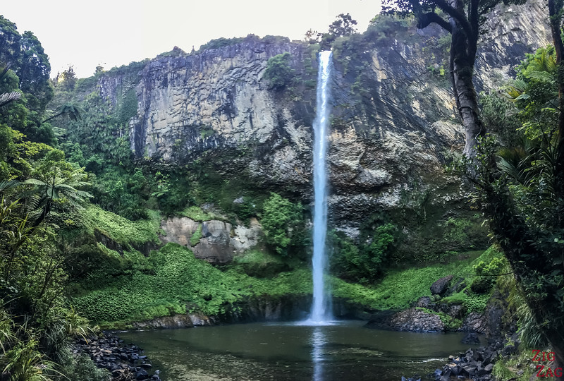 Bridal Veil Falls Raglan waterfall 3