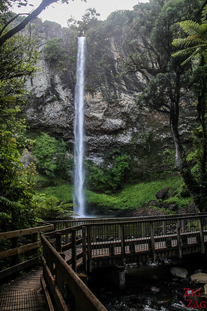 Bridal Veil Falls Raglan waterfall 1