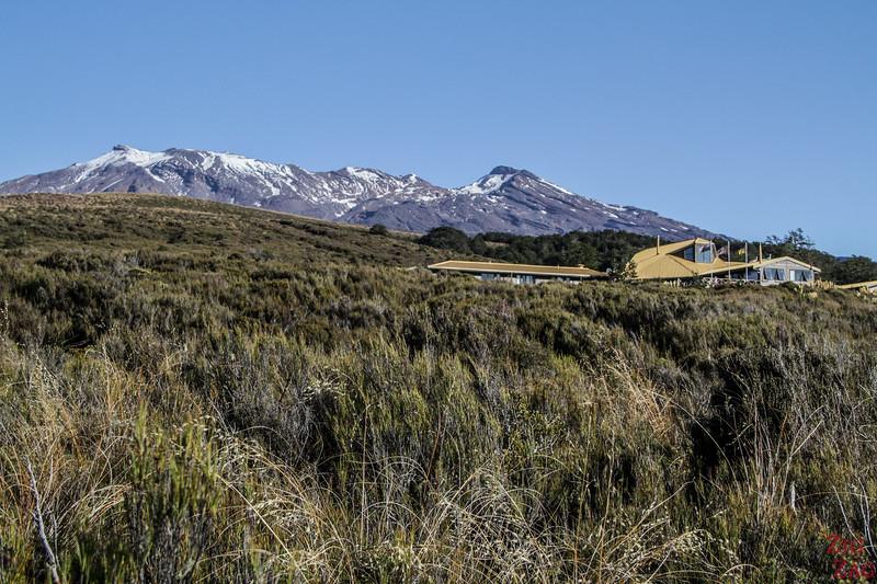 Randonnée dans le Tongariro - Retour vers le village Whakapapa 3