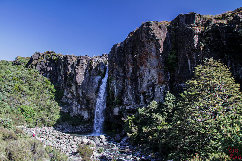 Taranaki falls Nouvelle Zélande