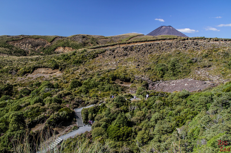 Difficulty of the Taranaki falls hike - staircase